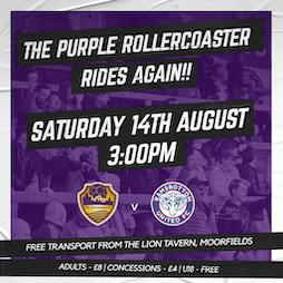 COLFC v Ramsbottom Utd Tickets | Vauxhall Motors FC Ellesmere Port  | Sat 14th August 2021 Lineup