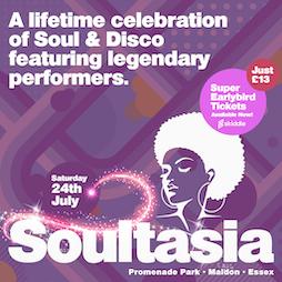 Soultasia Tickets | Maldon Promenade Park Maldon  | Sat 24th July 2021 Lineup
