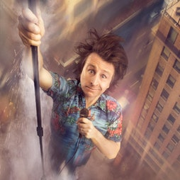 Milton Jones - Milton: Impossible   Middlesbrough Town Hall Middlesbrough    Tue 19th October 2021 Lineup