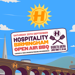 Hospitality Birmingham Open Air BBQ (Come Together 2021) Tickets   Digbeth Arena Birmingham    Sat 25th September 2021 Lineup