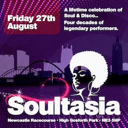 Soultasia - Newcastle  Tickets   Newcastle Racecourse Newcastle Upon Tyne    Fri 27th August 2021 Lineup