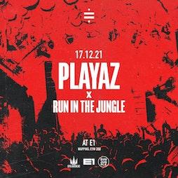 Undivide x E1 Autumn Series: Playaz & Run In The Jungle Tickets | E1 London London  | Fri 17th December 2021 Lineup
