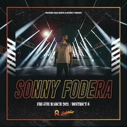sonny fodera pres solotoko 2021 tour - Dublin | District 8 Dublin  | Fri 15th October 2021 Lineup