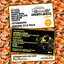 D+B Relaunch Tickets   Studio 338 Greenwich    Sat 24th July 2021 Lineup
