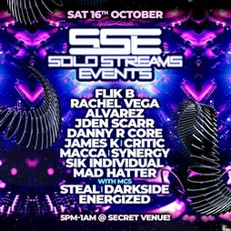 Solo Streams 16th October  Tickets | Virtual Event Online  | Sat 20th November 2021 Lineup