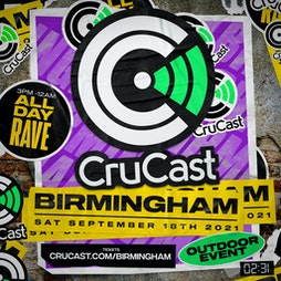 02.31 x CRUCAST - Birmingham - (Come Together) Tickets | Digbeth Arena Birmingham  | Sat 18th September 2021 Lineup