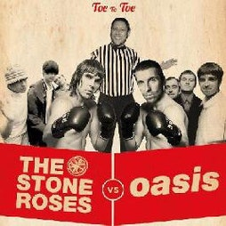 Oasis vs The Stone Roses | Live Room Cleckheaton  | Sat 27th March 2021 Lineup