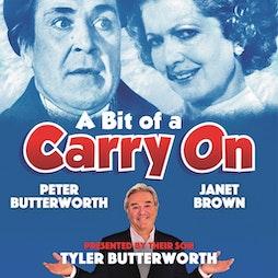 A Bit of Carry On | Redgrave Theatre Bristol Bristol  | Fri 3rd September 2021 Lineup