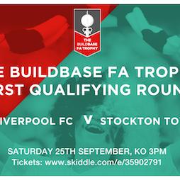 COLFC v Stockton Town FA Trophy Tickets | Vauxhall Motors FC Ellesmere Port  | Sat 25th September 2021 Lineup