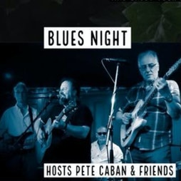 Blues Night Jam w/ Pete Caban and his House Band Tickets   The Twa Tams Perth    Thu 18th November 2021 Lineup