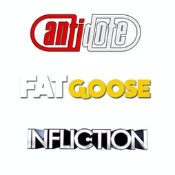 FATgoose - Antidote & Infliction - The All Dayer Tickets | Pure Nightclub Wigan Wigan  | Sat 18th September 2021 Lineup