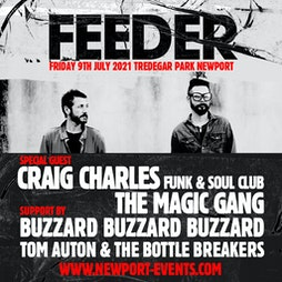 Feeder - Tredegar Park, Newport Tickets | Tredegar Park Newport  | Fri 9th July 2021 Lineup