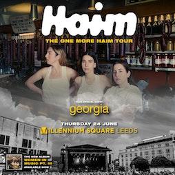 Haim Tickets   Millenium Square Leeds    Thu 24th June 2021 Lineup