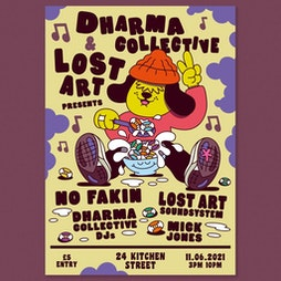 Dharma Collective & Lost Art Tickets   District  Liverpool    Fri 11th June 2021 Lineup