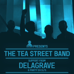Party Eh! Presents: The Tea Street Band + Delagrave  Tickets   The Brickyard Carlisle    Fri 8th October 2021 Lineup