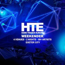 Hard Trance Europe Weekender  Tickets | Unit 1 Exeter  | Fri 12th November 2021 Lineup