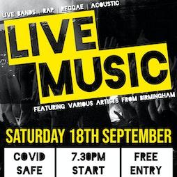 LIve Music Concert Tickets   Landport Community Centre Portsmouth    Sat 18th September 2021 Lineup