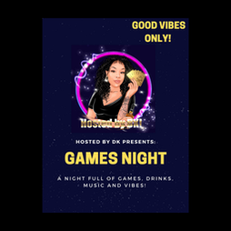 Hosted by DK: Games night  Tickets | The Unit Warwick  | Sat 19th June 2021 Lineup