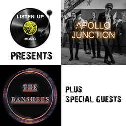 apollo junction, the banshees plus special guests Tickets | Jimmys Liverpool  Liverpool  | Sat 4th December 2021 Lineup