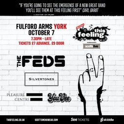 This Feeling - York  Tickets | The Fulford Arms York  | Thu 7th October 2021 Lineup