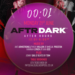 Reviews: AFTR DARK - Jaloux welcome back party  | Jaloux Liverpool Liverpool  | Mon 19th July 2021