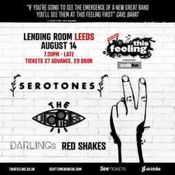 This Feeling - Leeds  Tickets | The Lending Room Leeds  | Sat 14th August 2021 Lineup
