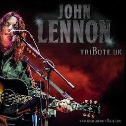 John Lennon Tribute UK  | Dorking Halls Dorking  | Sat 11th September 2021 Lineup
