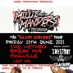 Venue: Millie Manders and the Shutup    | THE VICTORIA BIKERS PUB COALVILLE  | Fri 11th June 2021