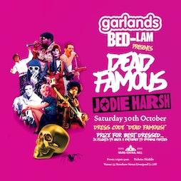 Garlands Bedlam Dead Famous Halloween Ball  Tickets   Grand Central Hall Liverpool    Sat 30th October 2021 Lineup