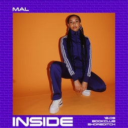 Inside - Launch Party w/ DJ Swagger, Mal & Ollie Rant Tickets | The Book Club London  | Thu 16th September 2021 Lineup