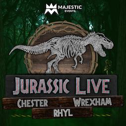 Jurassic Live ™ Rhyl Tickets | Rhyl Leisure Centre Rhyl  | Sat 18th September 2021 Lineup