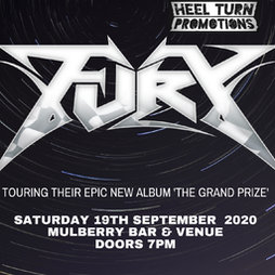 Fury Tickets   Corporation Sheffield    Sat 2nd October 2021 Lineup