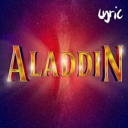 Aladdin (pantomime @ Lyric Hammersmith)   Lyric Hammersmith London    Wed 29th December 2021 Lineup