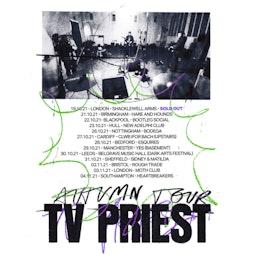 TV Priest / English Teacher Tickets | Hare And Hounds Birmingham  | Thu 21st October 2021 Lineup
