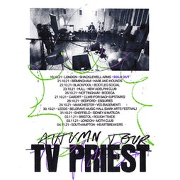 TV Priest Tickets | Hare And Hounds Birmingham  | Thu 21st October 2021 Lineup
