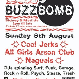 BUZZBOMB Tickets | Sidney And Matilda  Sheffield  | Sun 8th August 2021 Lineup