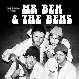 Mr Ben & The Bens / Boat To Row Tickets | Hare And Hounds Birmingham  | Thu 14th April 2022 Lineup