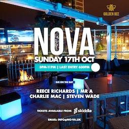 NOVA Tickets | Golden Bee Shoreditch, London  | Sun 17th October 2021 Lineup