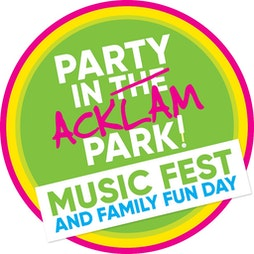 Party in Acklam Park 2021 Tickets | Middlesbrough Rugby And Cricket Club Middlesbrough  | Sun 29th August 2021 Lineup