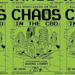 All Night Chaos (Lakota Bristol) Tickets   Lakota Bristol    Sat 2nd October 2021 Lineup