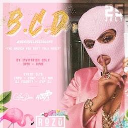 BCD Brunch @ Rozu Restaurant & Cocktail Lounge + Afterparty Tickets | Rozu Birmingham  | Sun 25th July 2021 Lineup