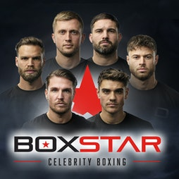 Boxstar Celebrity Boxing Tickets   AO Arena Manchester    Sat 2nd October 2021 Lineup