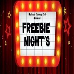 FREEBIE COMEDY Tickets | Broadway Bar And Grill London  | Thu 12th August 2021 Lineup