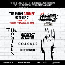 This Feeling - Cardiff  Tickets   The Moon Cardiff    Thu 7th October 2021 Lineup