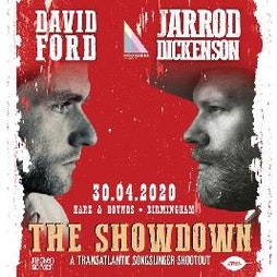 Jarrod Dickenson & David Ford | Hare And Hounds Birmingham  | Mon 12th April 2021 Lineup