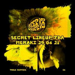 Keep It Cryptic Tickets | Meraki  Liverpool  | Thu 29th April 2021 Lineup