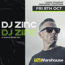 DJ Zinc (2 Hour Extended Set) + Support TBA Tickets | The Warehouse Leeds  | Fri 8th October 2021 Lineup