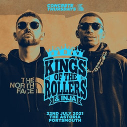 Kings Of The Rollers Portsmouth - Concrete Thursdays Tickets | Astoria Portsmouth  | Thu 11th November 2021 Lineup