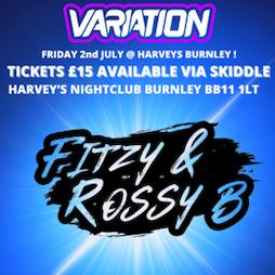 VARIATION BOUNCE  Tickets | Harveys Burnley Burnley  | Fri 2nd July 2021 Lineup
