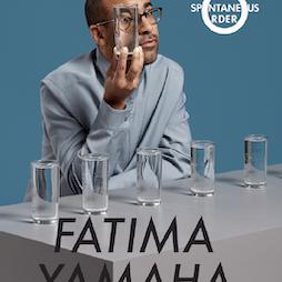 Fatima Yamaha - Spontaneous Order Manchester  Tickets | Gorilla Manchester  | Sat 24th April 2021 Lineup